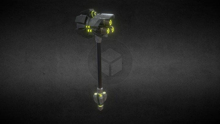 Martillo Low Fin 3D Model