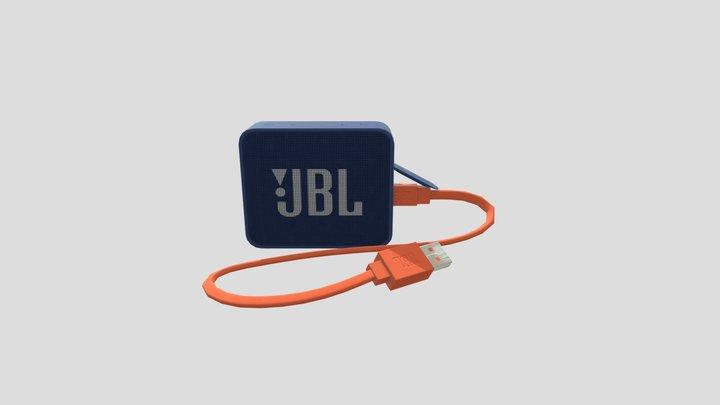 JBL GO 2 3D Model
