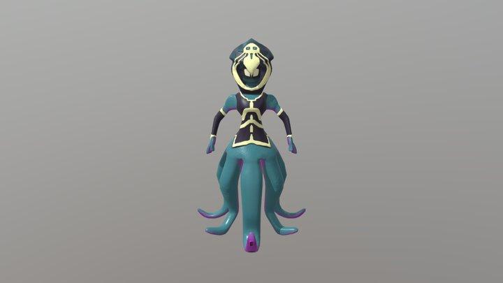 FantasyKraken 3D Model