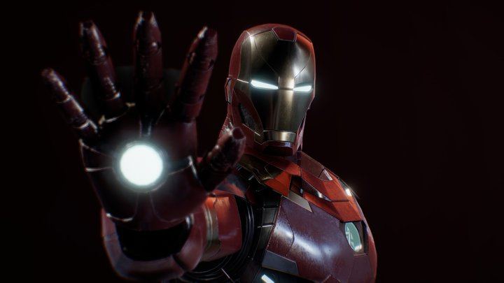 Ironman (Mark 46) 3D Model