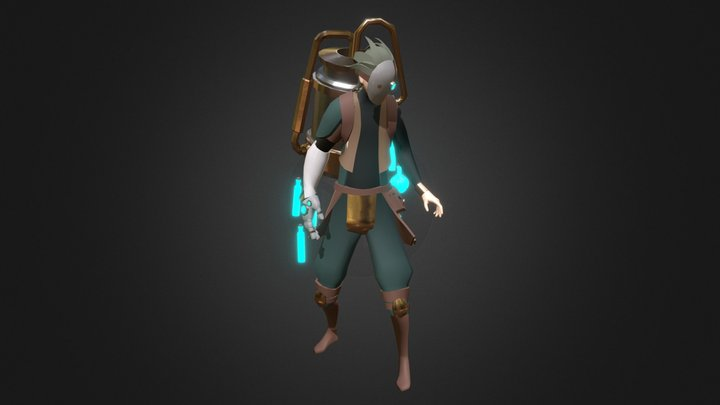 Morph, The Alchemist 3D Model
