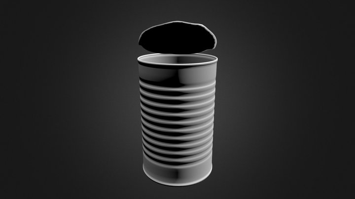Rusty can2 3D Model
