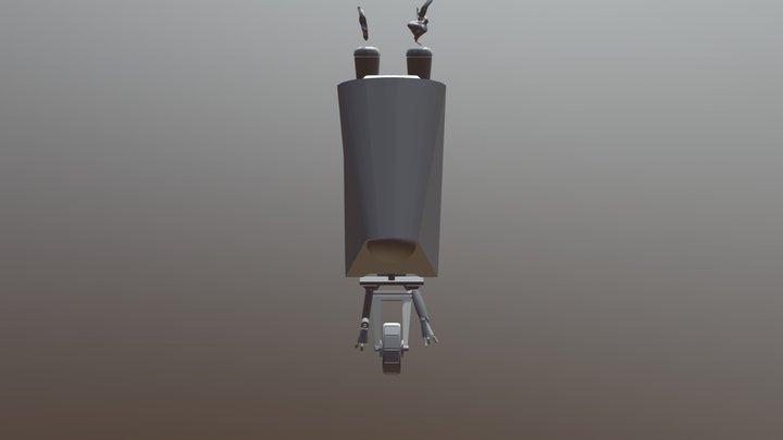 Roboto 01 3D Model