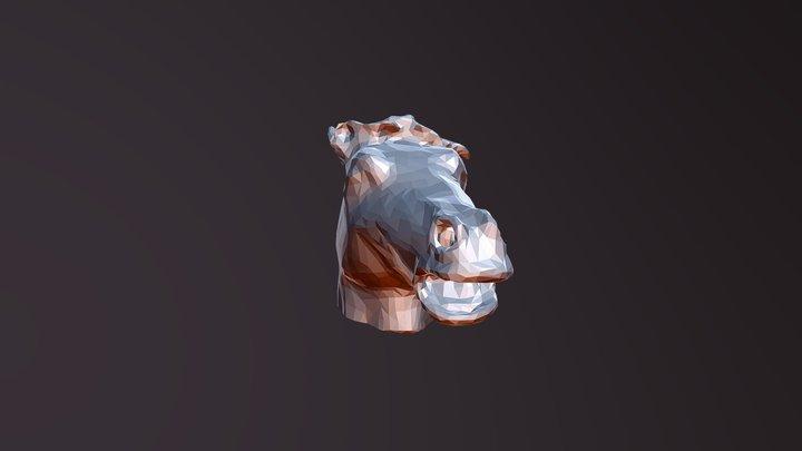 Mascara Caballo 3D Model