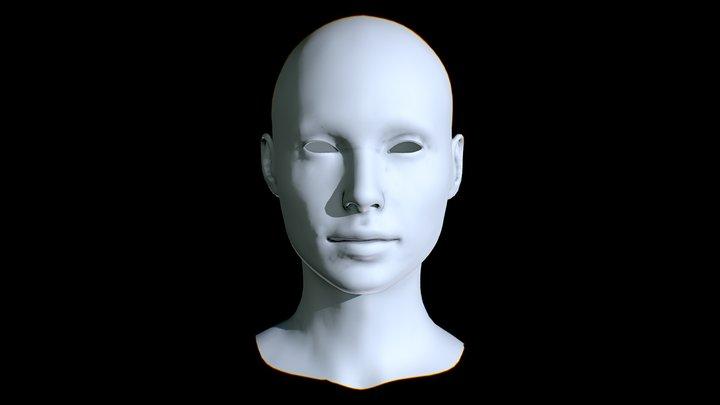 GAL GADOT_WONDER WOMAN_HEAD 3D Model
