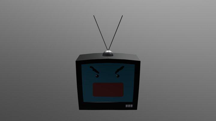 TV Monster 3D Model