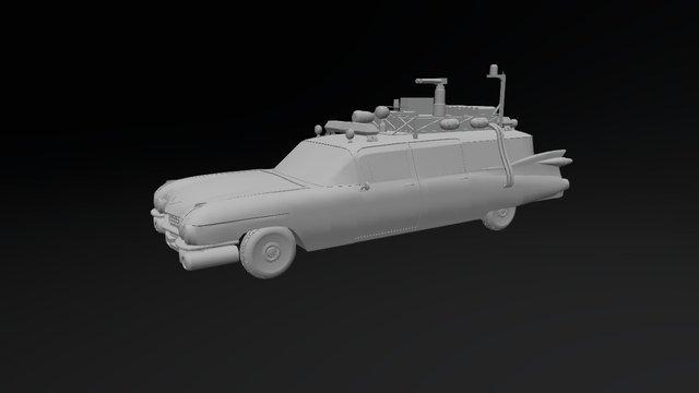 Ecto 1 3D Model
