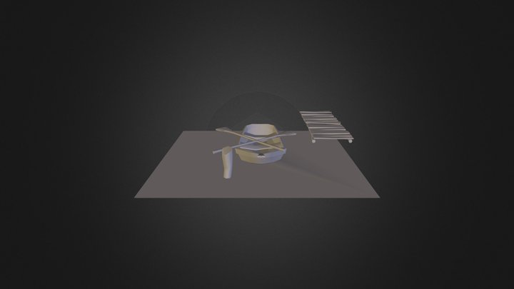 Barquita 3D Model