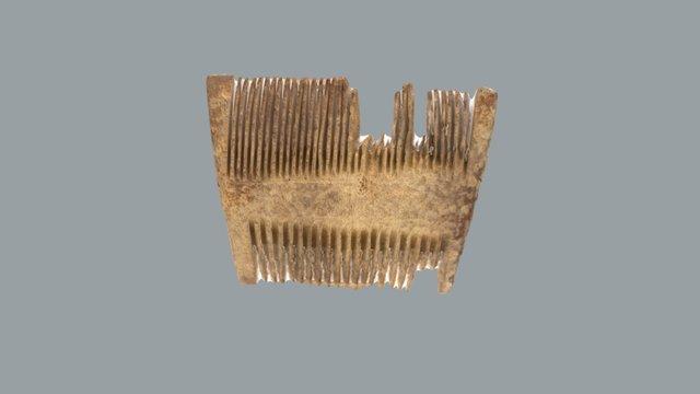 Гребінь кістяний. XI - перша пол. XII ст. Київ. 3D Model