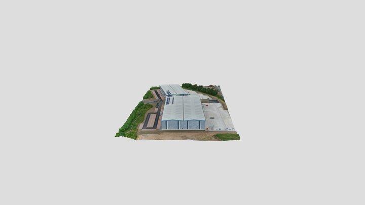 Warehouse Units 3D Model