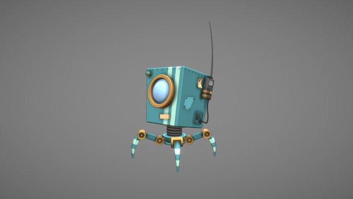 Robo_V2 3D Model