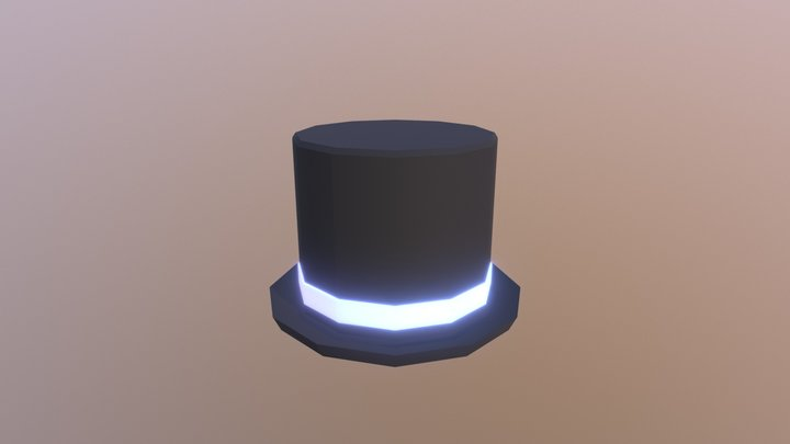 Top Hat 3D Model
