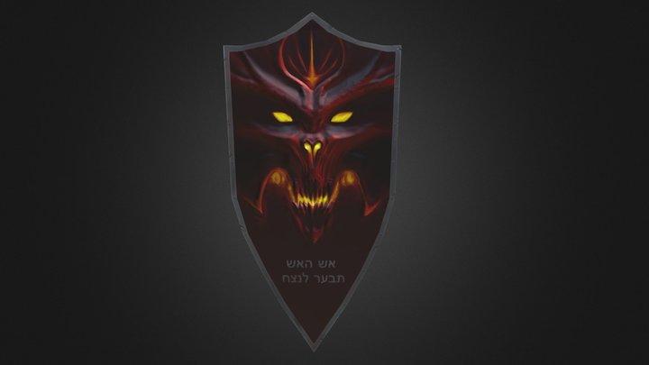 Demon-shield 3D Model