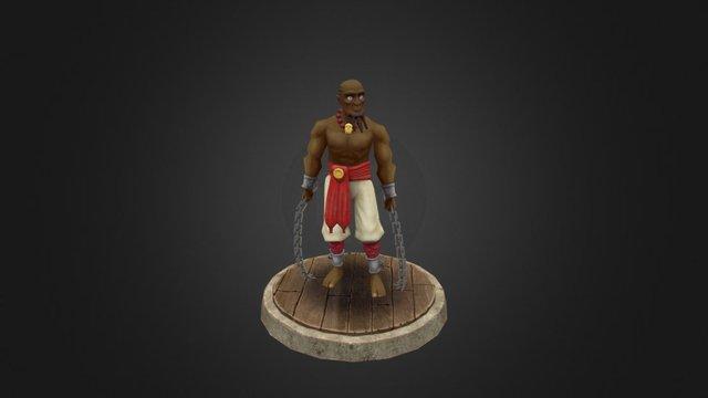 Tsongo Red Variant 3D Model