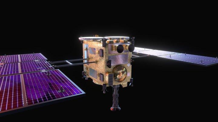 Hayabusa 2 3D Model