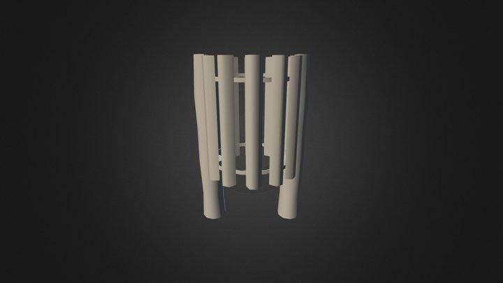 Lixo Madeira 3D Model