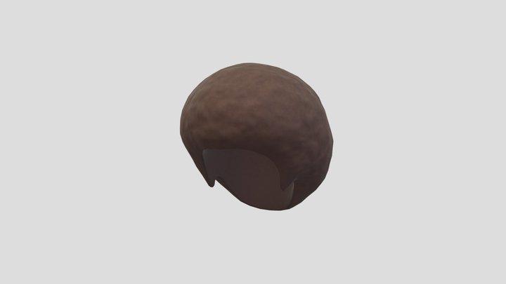 Afro Hair 3D Model