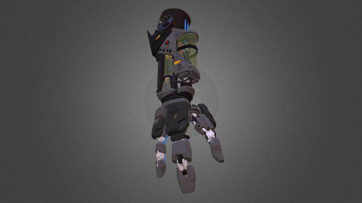 Tears of Steel: Bionic Arm 3D Model
