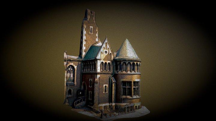Church of Olga and Elizabeth 001 3D Model