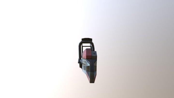 Chainsaw Free Fbx 3D Model