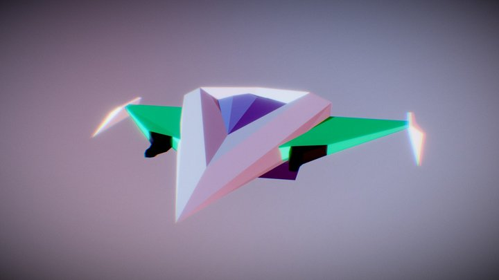 Spaceship Type A 3D Model