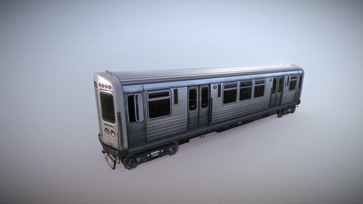 Chicago L-Train 3D Model