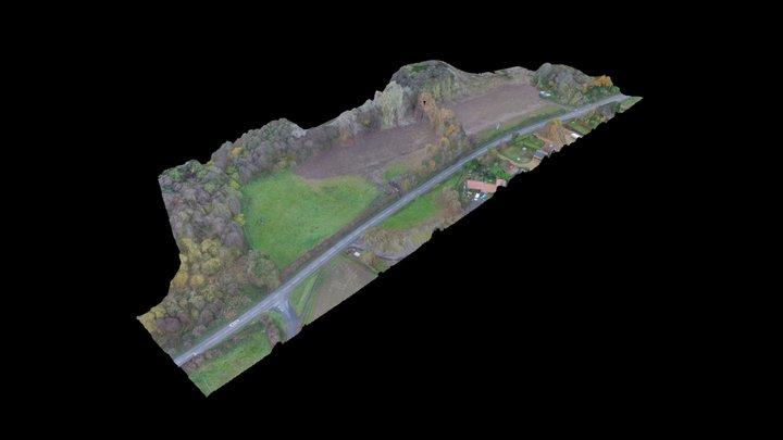 Land To West Of Hopton Road, Garboldisham 3D Model