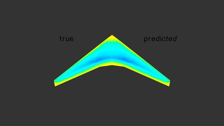 Wing True Pred 50perc 3D Model