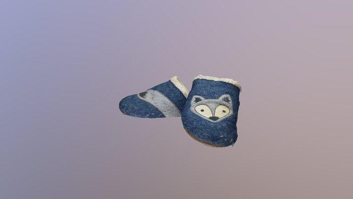 fox shoes 3D Model