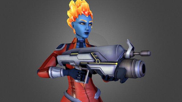[Energy Heroes] Cornalyx 3D Model