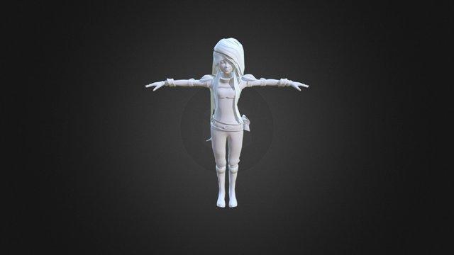 Emma (WIP) 3D Model