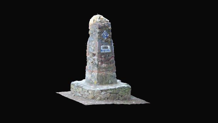 Fita de Rubió i Tudurí 3D Model