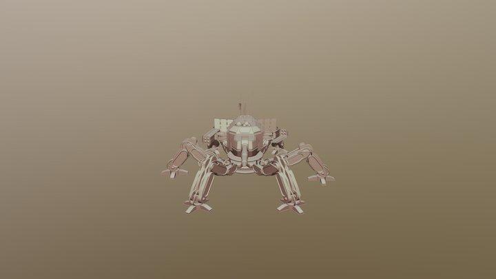 Spider Mech - W.I.P 3D Model