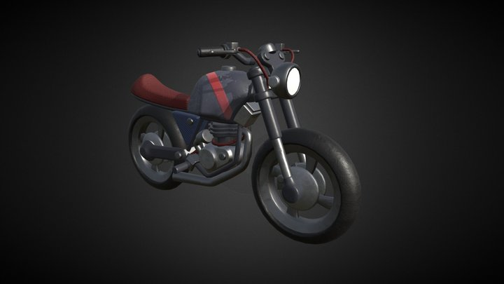 Moto 004 3D Model