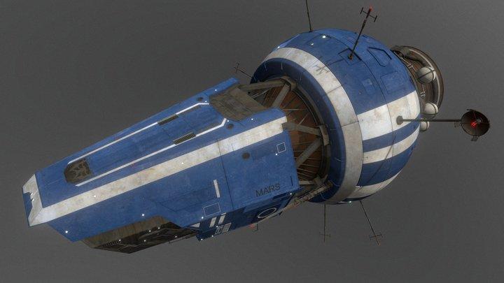 Epstein's Yacht (The Expanse) 3D Model