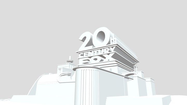 20th-century-fox-1994-part-3 3D Model