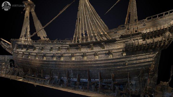 Vasa Ship 3D Model