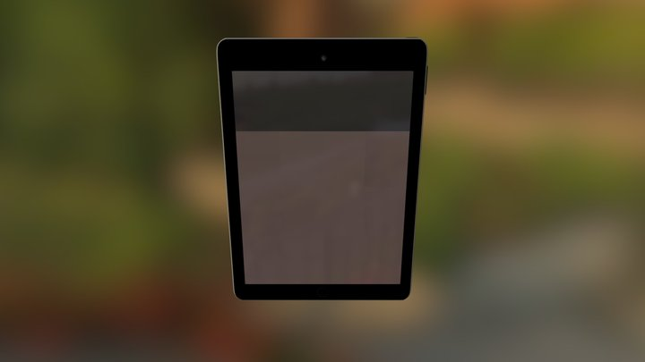 Ipad Air 2 3D Model