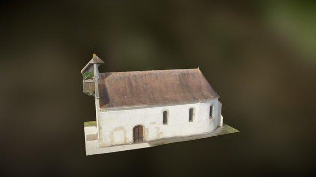 Eglise de Bétracq 3D Model