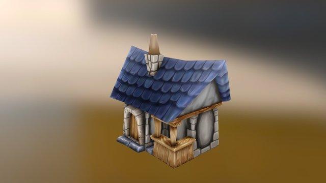 Dom 001 3D Model