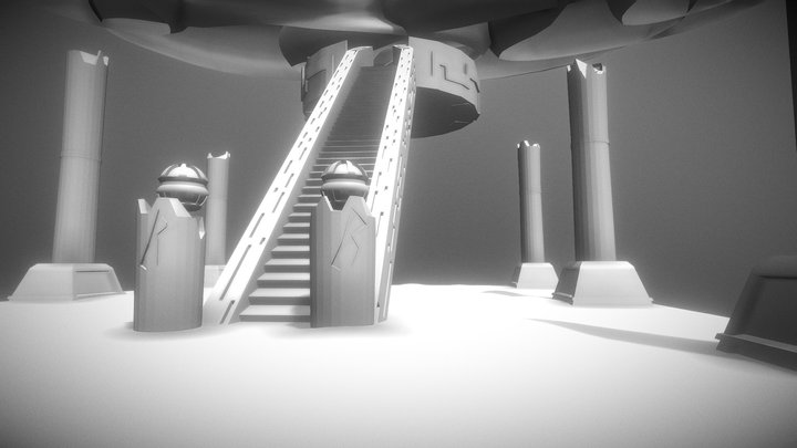 Level Design Pevel 3D Model