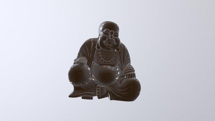 Laughing buddha scan - Einscan SE 3D Model