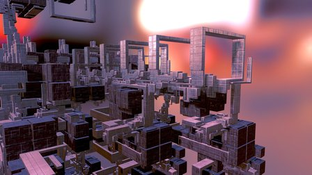 Subsystem Bifurcation 3D Model