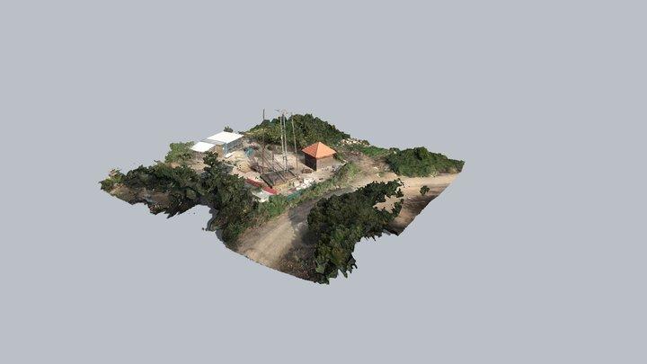 מצפה ריחן - מודל תלת-מימד 3D Model