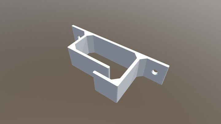 Cable holder 3D Model