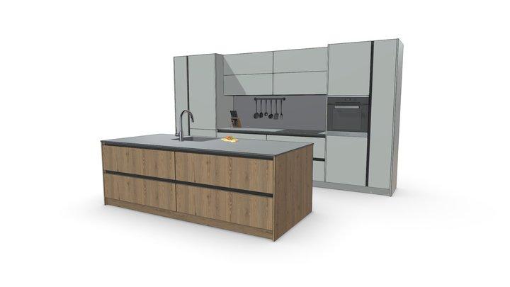 Кухня для портфолио 3D Model