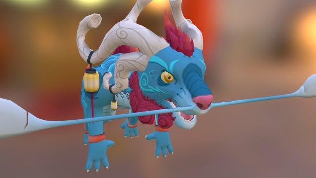 Slice Of Sky's Dragon 3D Model