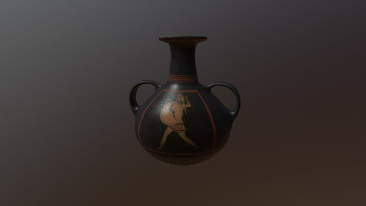 Greek Vase 3D Model