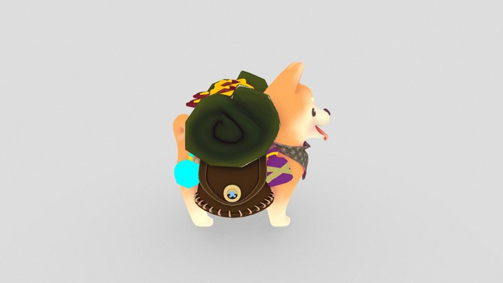 Travel Shibe 3D Model