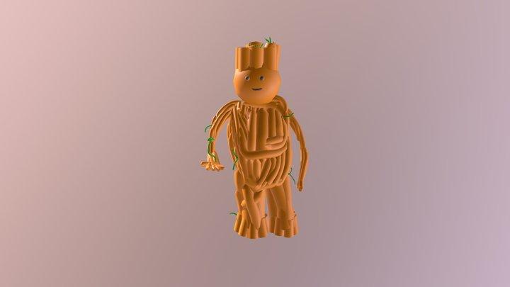 Groot 3D Model